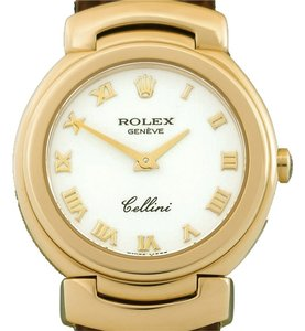 Rolex Rolex Geneve Cellini Solid 18 Karat Yellow Gold Watch