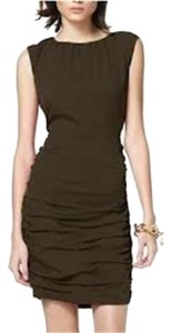Diane von Furstenberg Sheath Ruched Dress