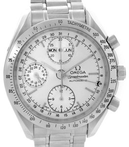 Omega Omega Speedmaster Silver Dial Automatic Day Date Mens Watch 3521.30.00