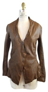Improvd Brown Leather Jacket