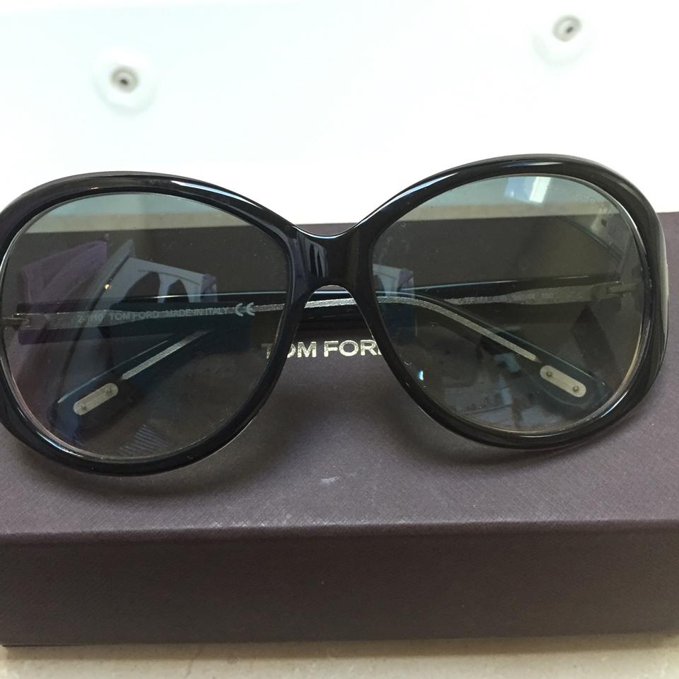 1a5615eccef Tom Ford Black Cecile Tf 171 03b 58 14 130 Sunglasses - Tradesy