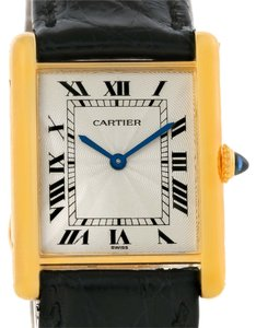 Cartier Cartier Tank Classic Paris 18k Yellow Gold Ultra Thin Mechanical Watch