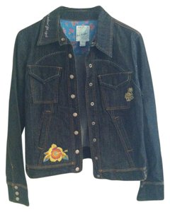 Born Barefoot Dark Denim Womens Jean Jacket