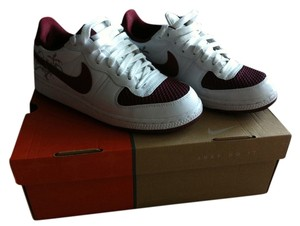 Nike White/Team Red-Cave Purple Athletic