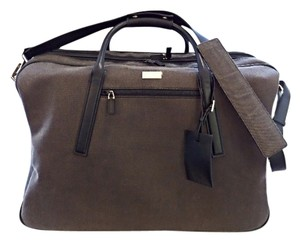 Gucci Suitcase Travel Canvas Brown Travel Bag
