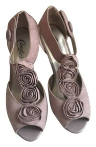 Candie's Mauve Rose T-strap Pink Formal