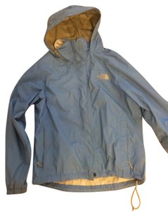 The North Face Fall Rain Cerulean Blue Jacket