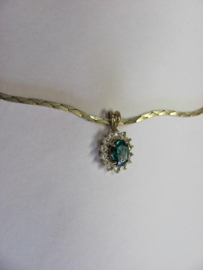 OTHER EMERALD/COLOR PENDANT Image 1