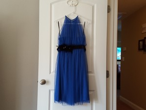 Wtoo Blue Bridesmaid Dress Dress