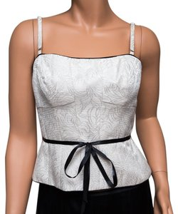Maggy London Top Ivory