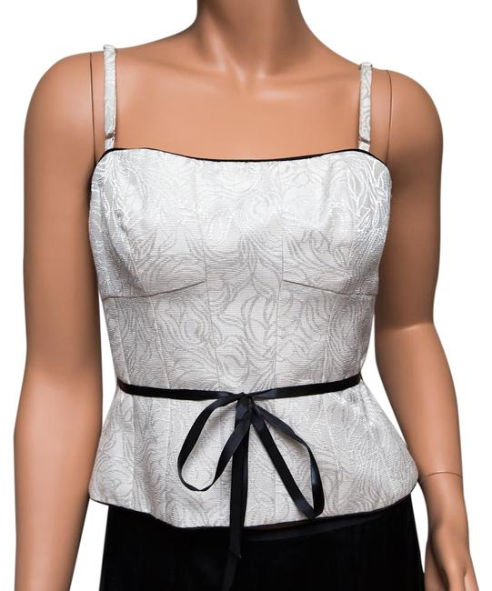 Preload https://img-static.tradesy.com/item/8575561/maggy-london-ivory-tank-topcami-size-6-s-0-3-650-650.jpg