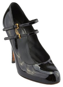 Miu Miu Mary Jane Black Pumps