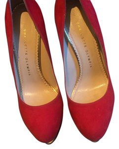 Charlotte Olympia Red Formal