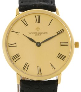 Vacheron Constantin Vacheron Constantin 18K Yellow Gold Ultra Thin Mechanical Watch 33160