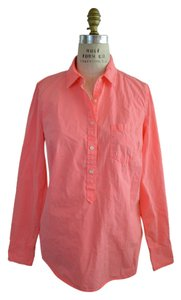 J.Crew Button Down Shirt neon rose