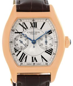 Cartier Cartier Tortue Privee 18K Rose Gold Monopusher Chrono Watch W1543651