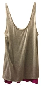 Express Top Pink and Grey