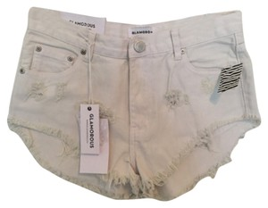 Urban Outfitters Mini/Short Shorts White