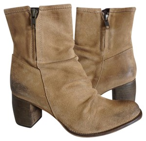 Jeffrey Campbell Ankle Taupe Boots