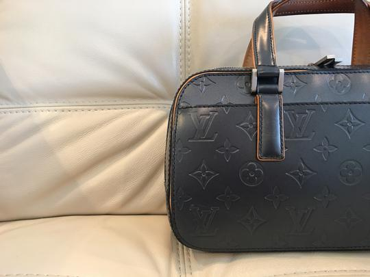 Louis Vuitton Lv Cute Classy Leather Silver Hardware Limited Edition Satchel in Grey/metallic mat Image 1