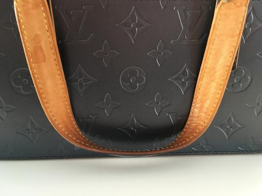 Louis Vuitton Lv Cute Classy Leather Silver Hardware Limited Edition Satchel in Grey/metallic mat Image 11