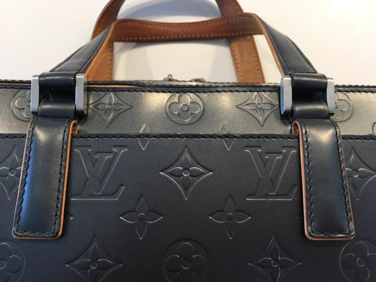 Louis Vuitton Lv Cute Classy Leather Silver Hardware Limited Edition Satchel in Grey/metallic mat Image 5