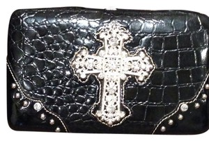 Country Road BLACK/RHINESTONES Clutch