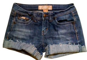Candie's Jeans Size 3 P1835 Cut Off Shorts denim