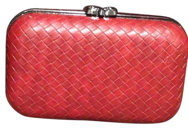 Unbranded Quilted Brown Clutch Unbranded Quilted Brown Clutch Image 1