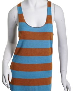 Troo Blue Wide Strap Size M Top