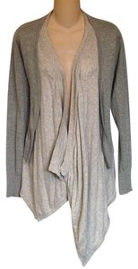 Mystree Anthropologie L Cotton Super Soft Layered Cardigan Sweater