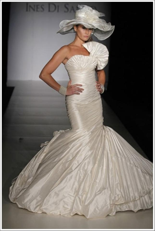 Ines di santo adrienne wedding dress tradesy for Ines di santo wedding dresses prices