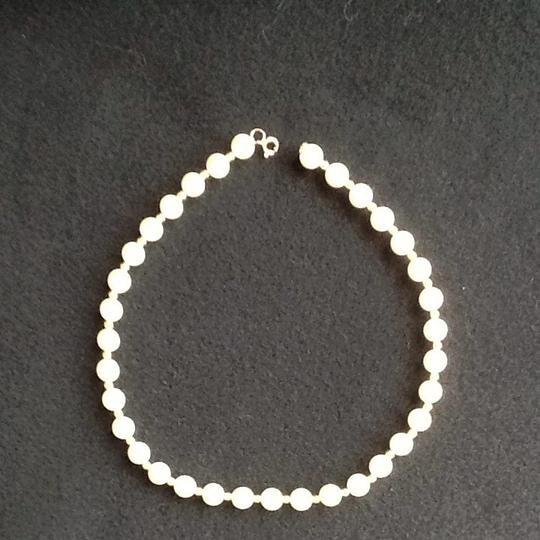 Other Faux Pearl And Gold Necklace