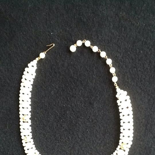 Other Small Pearl And Rhinestone Choker