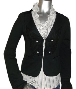 Free People Boho black Blazer