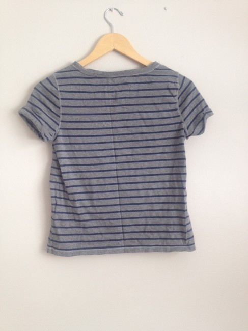 Hollister T Shirt Blue and Grey Image 2