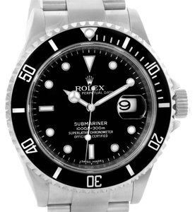 Rolex Rolex Submariner Date Mens Stainless Steel Watch 16610 Year 2007