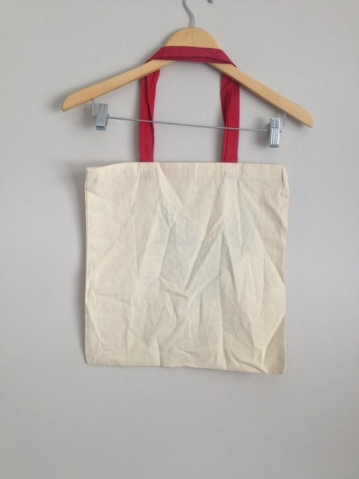 Vintage Tote in Cream Image 1