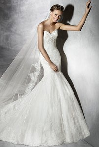 Pronovias Prune Wedding Dress