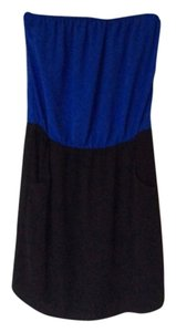 C. Luce short dress Blue and Black on Tradesy
