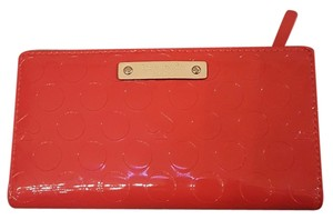 Kate Spade Kate Spade New York Red Patent Leather Stacy Wallet