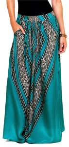 ViX Tribal Maxi Skirt Green