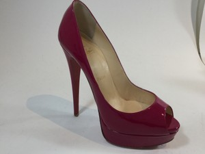 Christian Louboutin Magenta Pumps