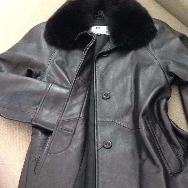 Givenchy Fur Leather Jacket
