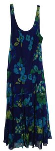 Blue Multi Maxi Dress by New Directions