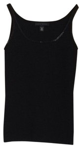 The Limited Beaded Accents Top Black