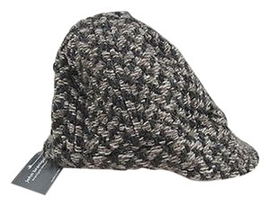 John Branigan Weaves Peak Cap Eco Brown Wool Ireland Hat