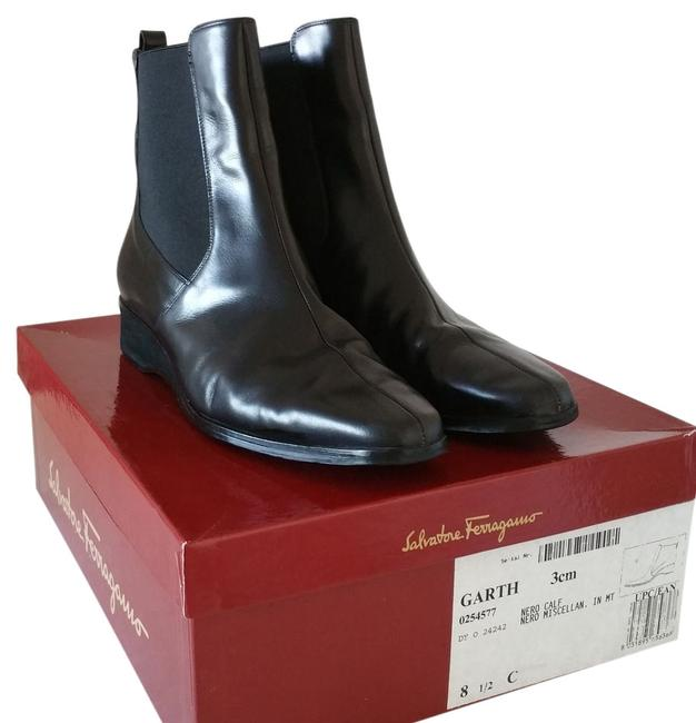 """Item - Black """" Garth """" Ankle Boots/Booties Size US 8.5 Wide (C, D)"""