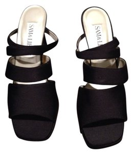 Sam & Libby Black Sandals