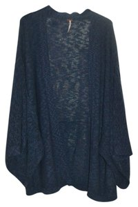 Free People Wrap Poncho Solid Cape